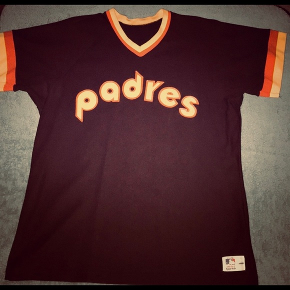 new product df734 63657 MLB San Diego Padres 80s Baseball Medalist Jersey
